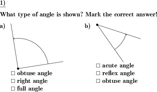 Angle types - Create your own individually crafted math