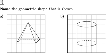 Name The 3d Geometric Shape Create Your Own Individually Crafted Math Worksheets